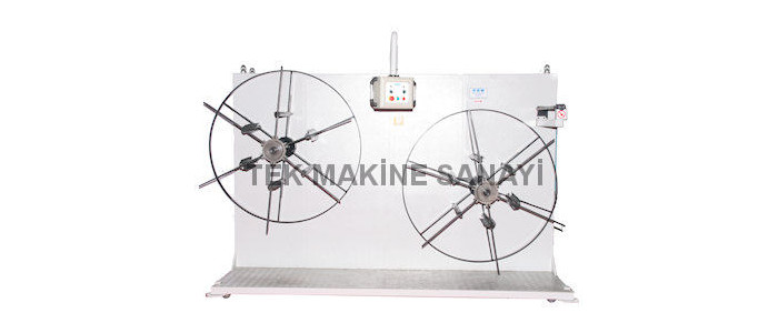 Plastic Pipe Rewinding Machine